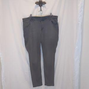Old Navy Gray Skinny Jeans 16